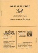 DDR, 1966, Booklet MH4b1a,  Ulbricht - [6] Democratic Republic