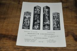 106- Kerkraam Van De Zal. Marcellin Champagnat - Koekelberg - Koekelberg