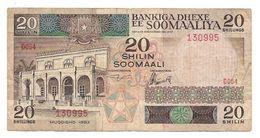 Somalia 1983 Old & Rare 20 Shillings Banknote, As Per Image Conditioned - Somalia