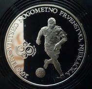 "CROATIA 150 KUNA 2006 SILVER PROOF ""2006 World Soccer Championship - Germany"" Free Shipping Via Registered Air Mail - Croatia"