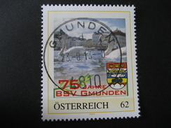 Pers.BM- Gmunden, Gmunden 75 Jahre BSV Mit Vollstempel Gmunden - Austria