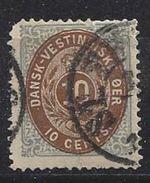 West Indies 1876 10c (o) Mi.11 - Denmark (West Indies)