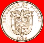 √ UN QUARTO: PANAMA ★ 1/4 BALBOA 2008! LOW START ★ NO RESERVE! - Panama