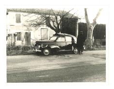 Photo Région Orgon, Route Nationale 7 / N7, Accident Peugeot 203, Policier - Automobiles