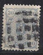Finland 1875-82  20 P  (o) Mi.16 B Y A (perf 12.5) - Gebraucht