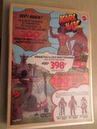 MATTEL KARL MAY Genre BIG JIM   -  Pour  Collectionneurs ... PUBLICITE  Page De Revue Des Années 70 Plastifiée Par Mes S - Other