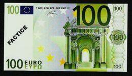 "Test Note ""POSTE FRANCE"" 100 EURO, Typ B Ser.-no 012345678900, Factice, RRRR, UNC - Sonstige"