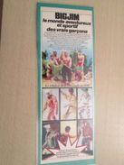MATTEL BIG JIM Le Monde Aventureux Et Sportif Des Vrais Garçons  -  Pour  Collectionneurs ... PUBLICITE  Page De Revue D - Other Collections