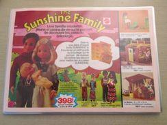 MATTEL POUPEES LA SUNSHINE FAMILY  -  Pour  Collectionneurs ... PUBLICITE  Page De Revue Des Années 70 Plastifiée Par Me - Other Collections