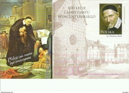 Polen GS '400 J. Karitas Des Hl. Vinzenz Von Paul' / Poland P.c. '400th Ann. Of St. Vincent De Paul Charity' **/MNH 2017 - Other