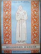 Broderies D'Assise. - Bibliothèque DMC. - 1954. - Point De Croix