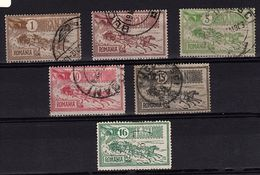 RO 642 - ROUMANIE N° 137/41 + 460 Obl. Hôtel Des Postes - 1881-1918: Charles I