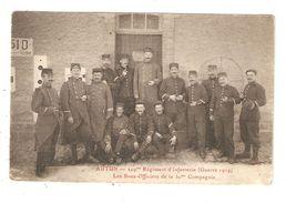 CPA Militaria 71 AUTUN 229 Régiment D'Infanterie Guerre 1914 Sous Officiers De La 30ème Compagnie Peu Commune  1914 - Guerre 1914-18