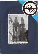 TOURS Cathédrale St-Gatien De Tours En Travaux Année 1930  Animation Personnes, Voiture D'époque Photo 8,50cmX6cm - Lugares