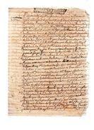 JEANNE DE RAVINE ,paroisse De Bourgniac.3 Pages Manuscrites.9 Novembre 1709. - Documents Historiques
