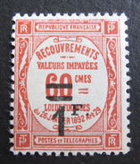 LOT R1631/1890 - 1926 - TIMBRE TAXE - N° 53 NEUF* - Cote : 23,00 € - 1859-1955 Mint/hinged