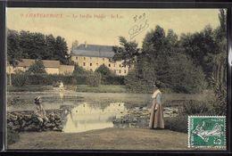 CPA 36 - Châteauroux, Le Jardin Public - Le Lac - Chateauroux