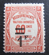 LOT R1631/1892 - 1926 - TIMBRE TAXE - N° 53 NEUF* - Cote : 23,00 € - 1859-1955 Mint/hinged