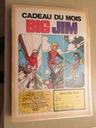 MATTEL  BIG JIM   -  Pour  Collectionneurs ... PUBLICITE  Page De Revue Des Années 70 Plastifiée Par Mes Soins , Ce Qui - Other Collections