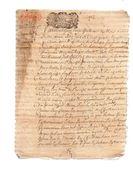 MARIE DABZAC DE LA DOUZE,damoiselle De St MICHEL & Noble JOSEPH DABZAC Escuyer.8 Pages.28 Juillet 1694 - Documents Historiques