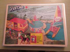 MATTEL  BARBIE SUPERSTAR -  Pour  Collectionneurs ... PUBLICITE  Page De Revue Des Années 70 Plastifiée Par Mes Soins , - Barbie