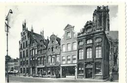 Mechelen Malines Grote Markt. Oude Huizen En Telegraafkantoor - Grand' Place. Thill N° 657 Nels - Malines