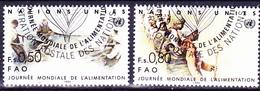 UN Genf  Geneva Geneve - Welternährungstag (MiNr: 120/1) 1984 - Gest Used Obl - Usati