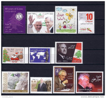 Lebanon 2012 Complete Year Set Including SCARCE Stamps, Mother's Day, Civilization, Immigrants ... MNH - Lebanon