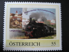 Pers.BM 8012360** Langschlag Waldviertler Schmalspurbahn - Österreich