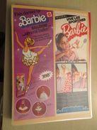 MATTEL  BARBIE DANSEUSE BARBIE SPORTIVE  -  Pour  Collectionneurs ... PUBLICITE  Page De Revue Des Années 70 Plastifiée - Barbie