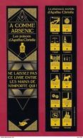 Marque Page éditions Du Masque.   A Comme Arsenic.   Les Poisons D'Agatha Christie.   Bookmark. - Bookmarks