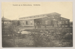 Nederland - Gezicht Op En Schouwburg. Harskamp. Uitgave A. Verpoort. Verzonden Van Harskamp Naar Utrecht - Niederlande
