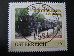 Pers.BM 8024138 Grünburg Steyrtalbahn Mit Vollstempel Grünburg - Austria