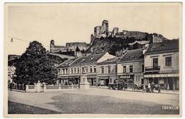 SLOVACCHIA - TRENCIN - Trenčín  - Vedi Retro - Formato Piccolo - Slovacchia