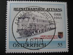 Pers. Marke 8025503 Gestempelt Attnang, ÖBB 1041 - Personalisierte Briefmarken