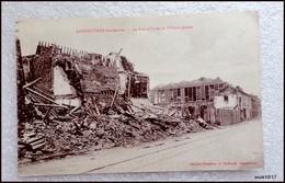 59 - ARMENTIERES BOMBARDEE -  LA RUE D'YPRES ET L'USINE JANSON - Armentieres