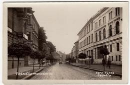 SLOVACCHIA - TRENCIN - Trenčín - Palackého Ul  - Vedi Retro - Formato Piccolo - Slowakei