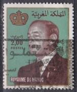 Marocco, 1983 - 2d King Hassan II  - Nr.522 Usato° - Marocco (1956-...)