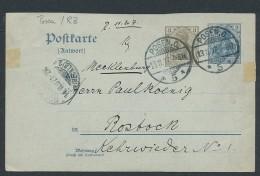 Heimat Beleg Posen-Umgebung.....  (t6496 ) Siehe Scan ! - Lettres & Documents