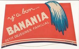 Publicité, Coiffe De Tirailleur - Y'a Bon BANANIA - Publicités