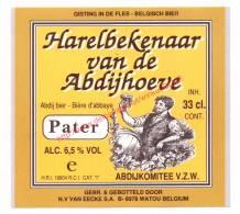 Harelbekenaar Van De Abdijhoeve - Brouwerij Van Eecke - Bière