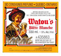 Watou's Bière Blanche - Brouwerij Van Eecke Kapittel - Canada Import - Bière