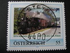 Pers.BM 8016911 Steyr Steyrtalbahn Mit Vollstempel Steyr - Austria
