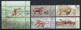 Moldova 2016 / Prehistoric Extinct Animals MNH Animales Extinguidos  Prähistorischen Tieren / Cu5328  40 - Prehistóricos