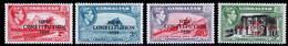 Gibraltar 1950 MNH Set SG 140/143 - Gibraltar