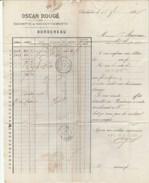Aude-Chalabre -Oscar Rougé - Banque - Escompte Et Recouvrements - 1876 - Banque & Assurance