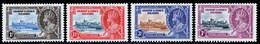 Gilbert & Ellice Islands 1935 Silver Jubilee MH Set SG 36/39 Cat £32 - Gilbert & Ellice Islands (...-1979)