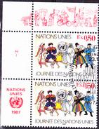 UN Genf  Geneva Geneve - Tag Der UN (MiNr: 158) 1987 - Gest Used Obl - Used Stamps