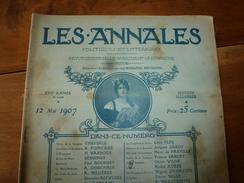 1907 Les ANNALES P&L:Paradis Artificiel Des Fumeries D'opium;Salon ;Arrestation De L'anarchiste Jacob Law;Salomé ; Etc - Journaux - Quotidiens
