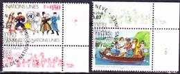 UN Genf  Geneva Geneve - Tag Der UN (MiNr: 158/9) 1987 - Gest Used Obl - Used Stamps